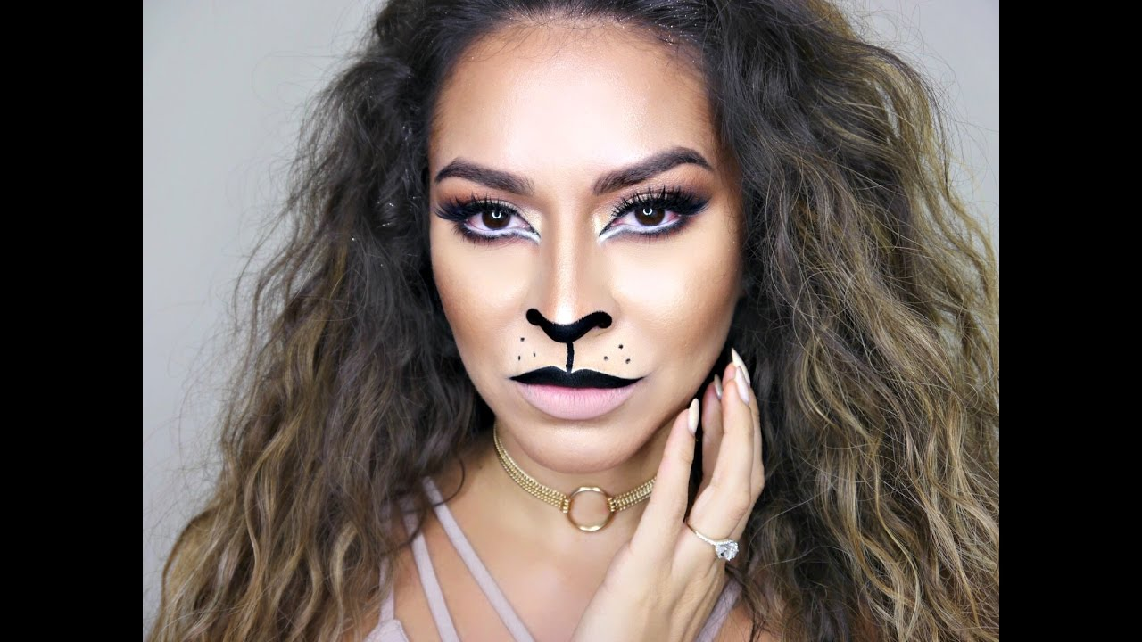Lion Makeup Tutorial Cat Halloween