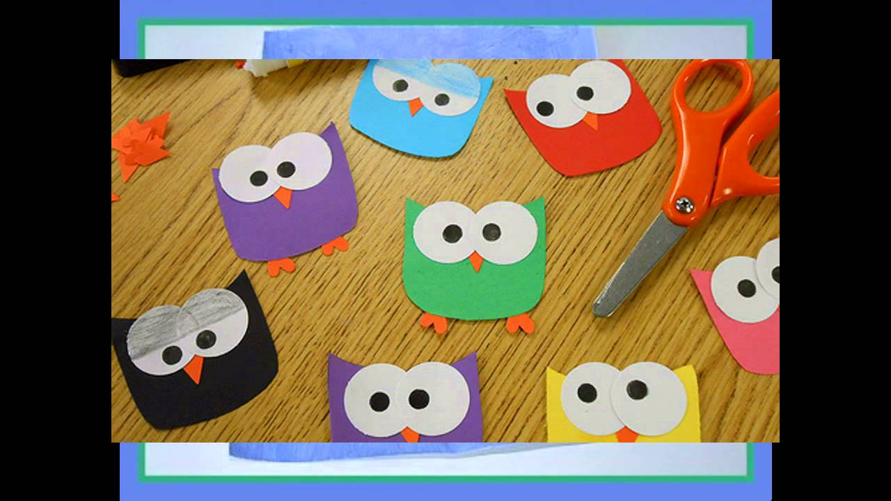 Easy DIY Construction Paper Crafts