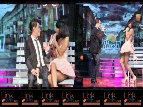 """""""Thót tim"""" với chiếc váy siêu ngắn của Hà Anh - link24h.net"""