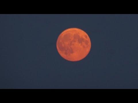 Полное лунное затмение. Кровавая луна. 27.07.2018 (Full version). Total lunar eclipse. Blood moon.
