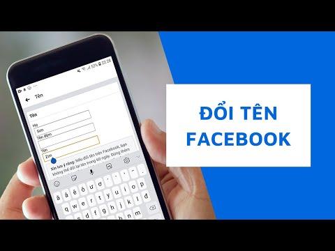 lấy lại facebook bị hack đã đổi thông tin email 2018 - Cách đổi tên facebook trên điện thoại | kể cả chưa đủ 60 ngày hoặc quá 5 lần