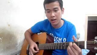 Quê Hương Việt Nam cover guitar  Chúc mừng sinh nhật em gái