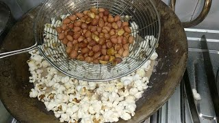 Kai so saal puraane tareeke se banaye popcorn and roasted peanut