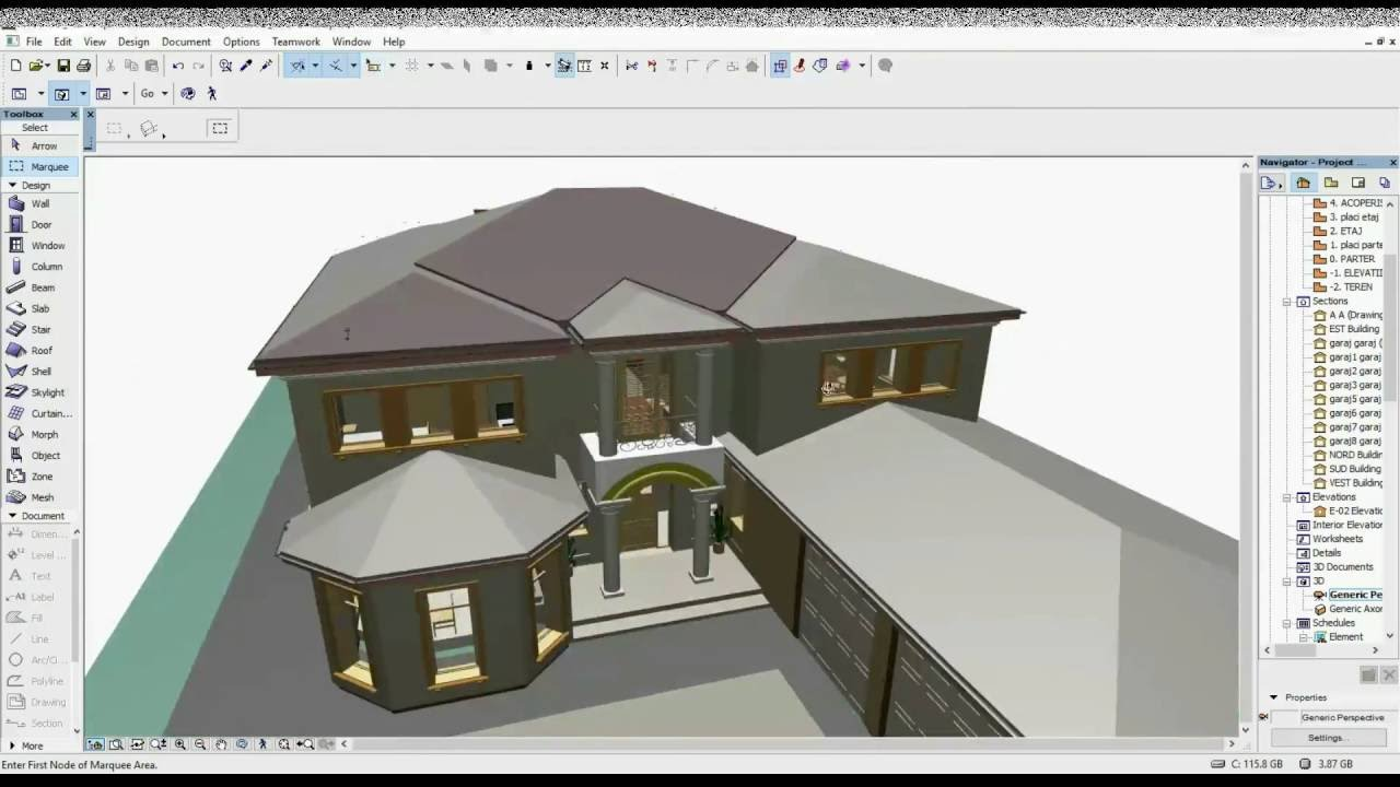 Calculate Roof / Tile Surface In ArchiCAD   YouTube