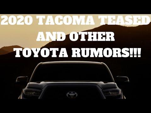 TOYOTA TEASES 2020 TACOMA + MORE RUMORS/LEAKS!!!