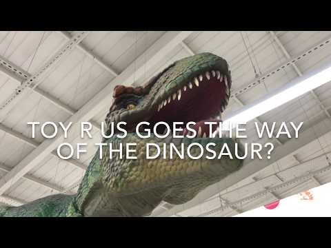 Toys R Us Going The Way Of The Dinosaurs In UK?