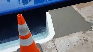 Concrete Pool Repair Part 2
