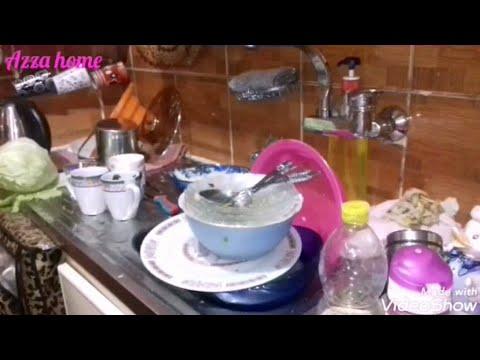 فيديو تشجيعى لتنظيف المطبخ والطريقة الصحيحة للتخلص من زيت القلى🍴🍳🍝🍜🍲🍛🍗☕🍵