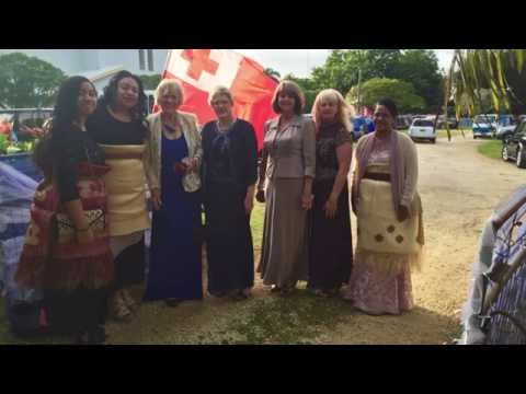 Kingdom of Tonga Coronation Trip 2015