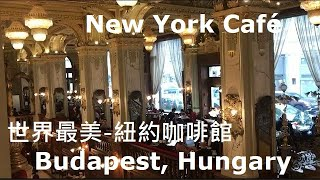 The Top 10 Most Beautiful Cafes in the World/世界最美紐約咖啡廳/布達佩斯必朝聖/New York Café【STV Funwalker】