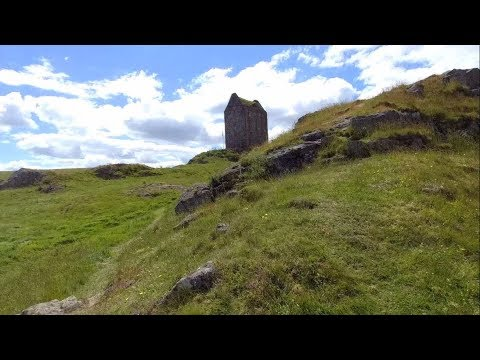 Driving To And Visiting Smailholm Tower In The Scottish Borders