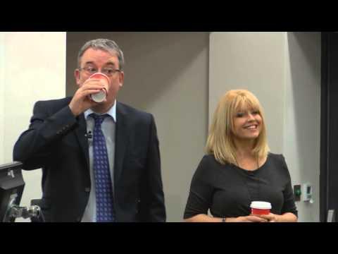 Christine Talbot & Duncan Wood - Presenters, ITV Yorkshire
