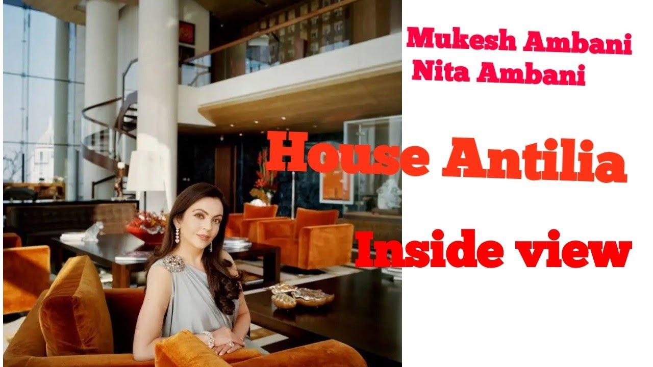 Inside View Of Mukesh Ambani Nita Ambani House Antilia Interior And Exterior Youtube