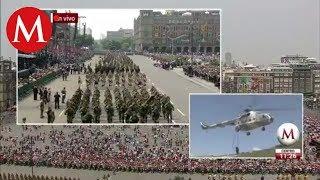 Desfile militar por el 208 aniversario de la Independencia