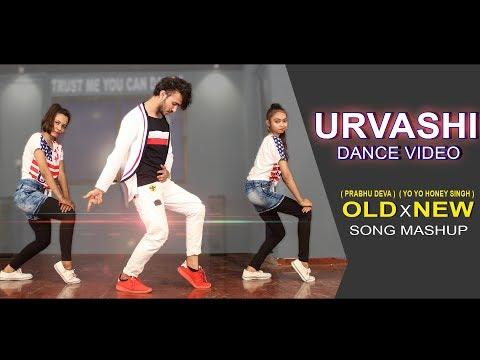 Urvashi Dance Cover | Prabhu Deva x Honey Singh Song Mashup | Vicky Patel Choreography