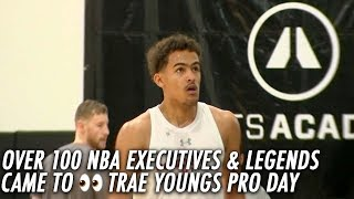 Trae Young Pro Day in front of Over 100 NBA Executives and scouts!