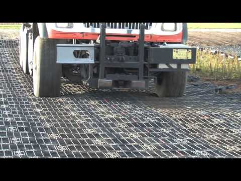 GEOTERRA® Construction Mats for Haul Roads