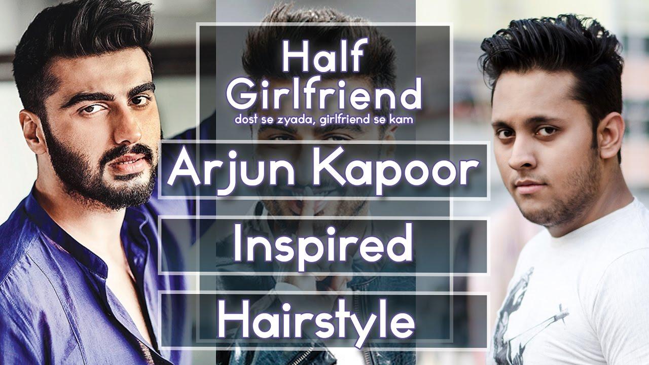 Half Girlfriend Arjun Kapoor Inspired Hairstyle Tutorial Arjun