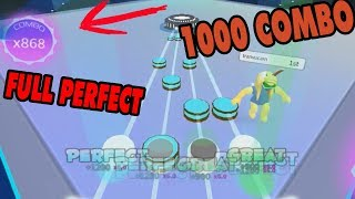Roblox | RoBeat High-player jumping 1000 Combo | Robeat | MinhMaMa