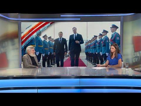Milan Mišić: Poseta Makrona nije generisala neku veliku vest