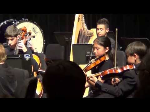 Water Music-Andante by Handel- Mississauga Youth Orchestra