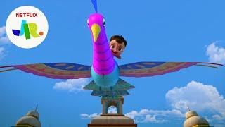 The Beautiful Bird Kite Chase 🦚 Mighty Little Bheem: Kite Festival   Netflix Jr