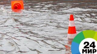Военные доставили гумпомощь в отрезанные паводком села в Приангарье