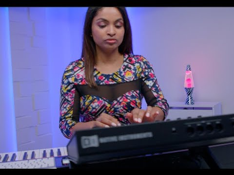 Native Instruments – Maschine Studio and S88 with Ajantha (Patrice Rushen)