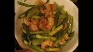 How-to cook Sauteed Shrimp and Asparagus