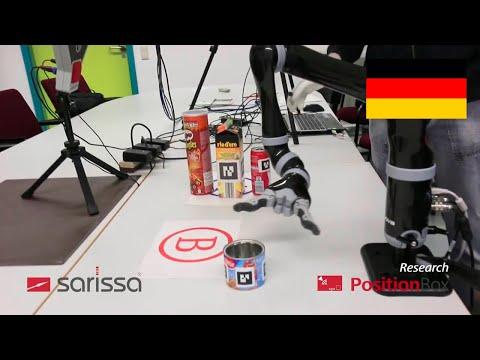 Industrie 4.0 / Mensch-Roboter-Kollaboration / Datenhandschuh von Sarissa