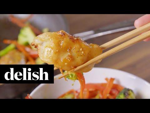 Dumpling Stir Fry  Delish