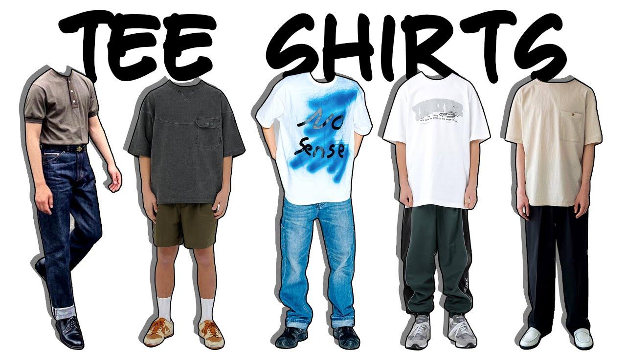 2020년 여름 후회없는 존예 티셔츠 추천! (스타일, 소재별)