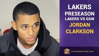 Jordan Clarkson Has Right Shoulder Sprain in Lakers Vs. GSW