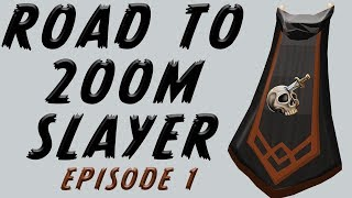 RuneScape: Road to 200m Slayer Episode #1 - RS