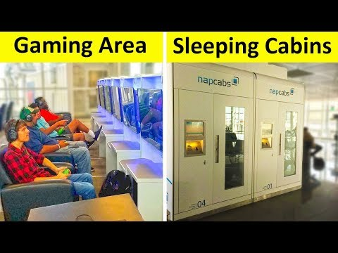The Most Creative airport ideas ✈️