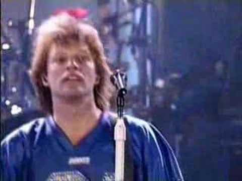 Bon Jovi - Wanted Dead Or Alive