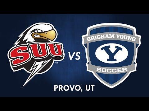 BYU Men's Soccer vs SUU - 20 October 2017