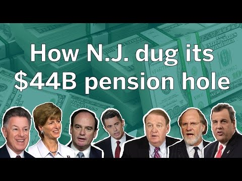 N.J. pension crisis explained with popsicle sticks