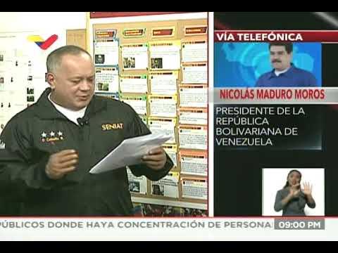 Maduro responde a gobierno EEUU sobre envío del Comando Sur al mar Caribe para operación antidrogas