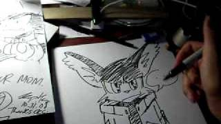 """Taz draws the Klonoa """"redesign"""""""