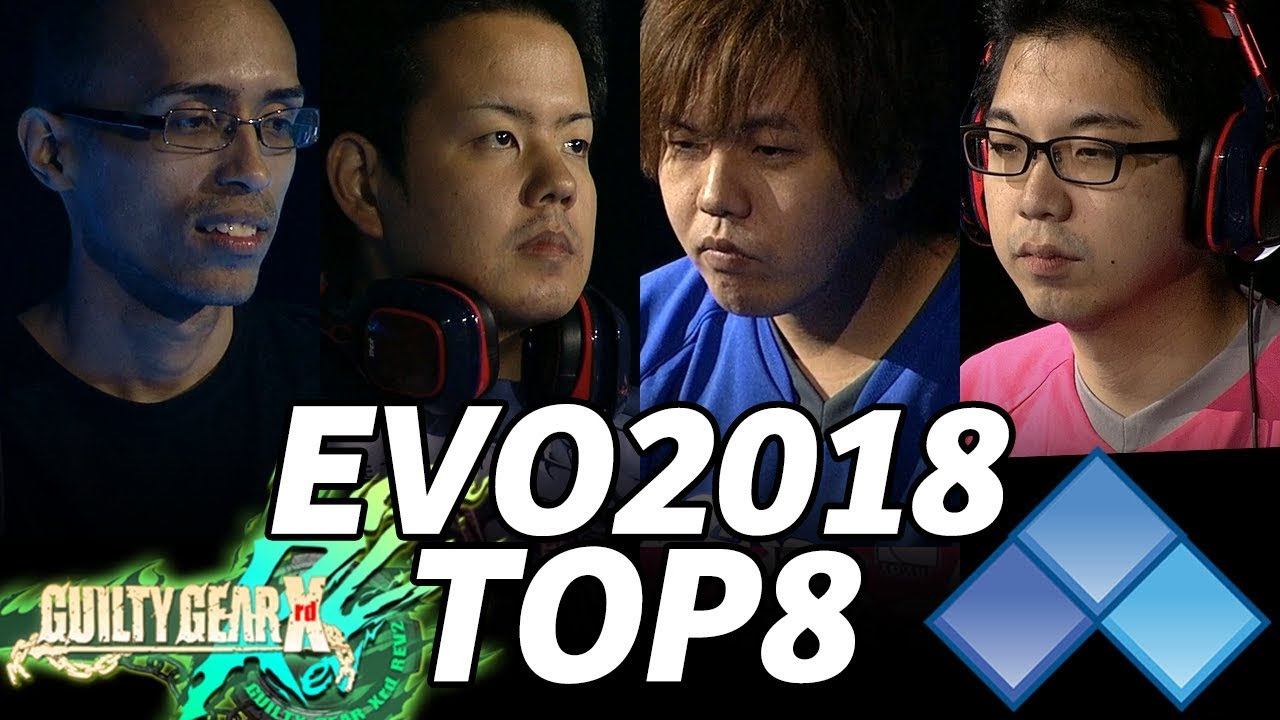 Evo 2018 Guilty Gear Xrd R2 Top8 Timestamp Omito Machabo Lostsoul