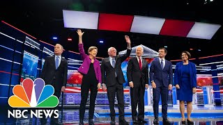 Watch The Full Nbc News/msnbc Democratic Debate In Las Vegas   Nbc News