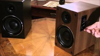 TAGA Harmony TAV-500B - High Fidelity Multimedia Hi-Fi Active Speakers
