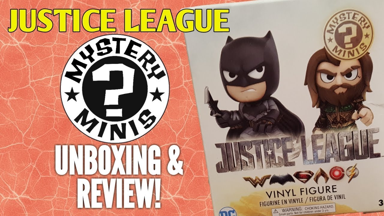 0779ad03d93 FUNKO JUSTICE LEAGUE MYSTERY MINIS! - Unboxing and Review! - YouTube
