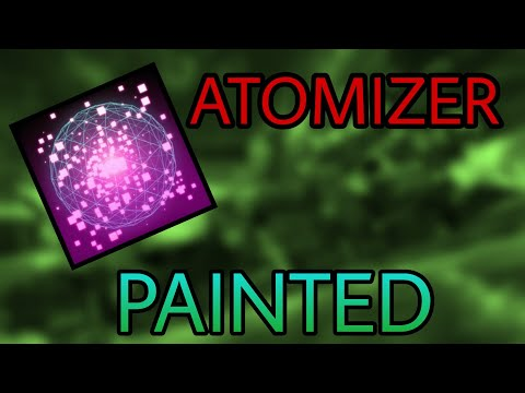 ALL PAINTED ATOMIZER GOAL EXPLOSIONS! | Rocket League