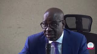 THE EDO STATE GOVERNOR, MR. GODWIN OBASEKI, PAID A COURTESY VISIT TO TCN MANAGEMENT