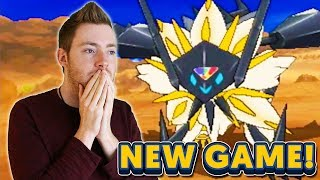 NEW POKEMON GAMES: Pokémon Ultra Sun & Moon - LIVE REACTION!