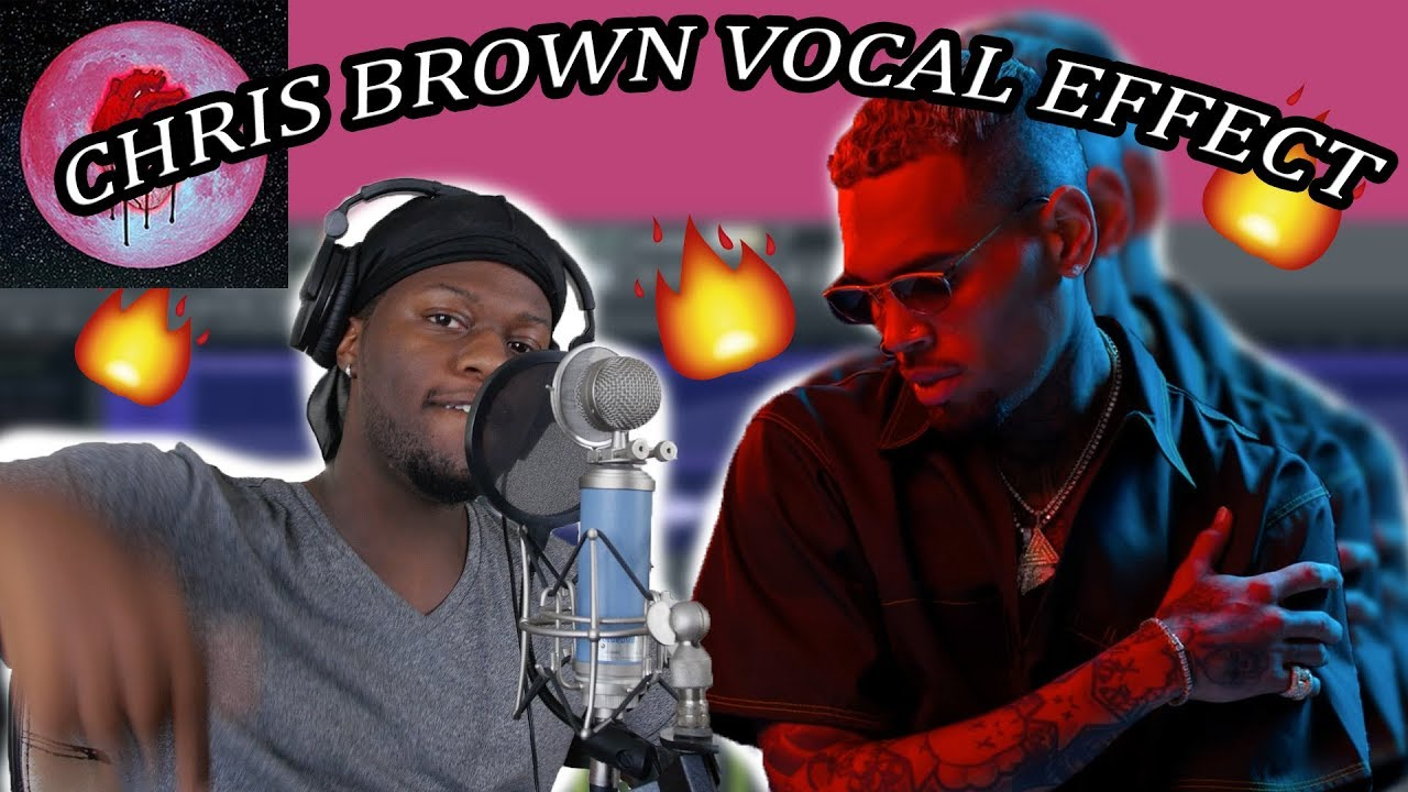 How To Sound Like Chris Brown Vocal Effect Tutorial | FL Studio (Heartbreak  on a Full Moon)
