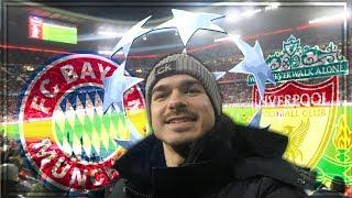FC BAYERN - FC LIVERPOOL | Champions League - STADIONVLOG