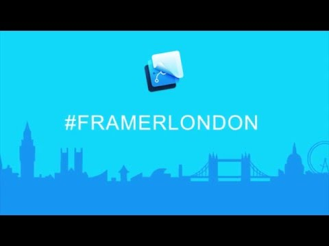 Framer Workshop London - 5. How to make a Contacts List for Android